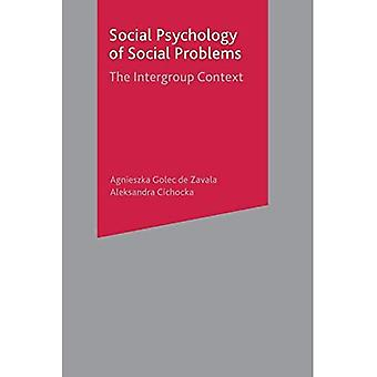 Social Psychology of Social Problems