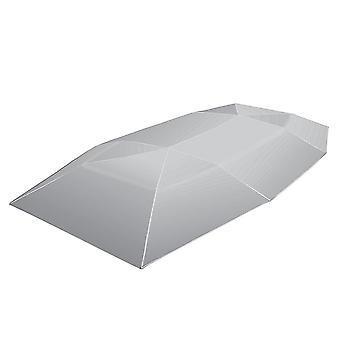 Car umbrella sunshade cover tent oxford cloth 4 * 2.1m universal silvery uv protection