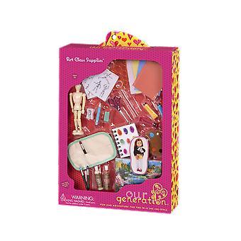 Our generation art class supplies accessory set
