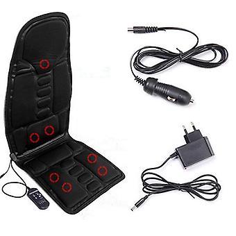 Massage kissen elektrische Massage Auto Sitz Vibrator Rücken hals massagem Kissen Heat pad für Beine Taille Körper massage