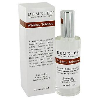 Demeter whiskey tobacco cologne spray by demeter 449009 120 ml