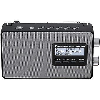 HanFei RF-D10EG-K Digitalradio (DAB+/UKW Tuner, Netz- und Batteriebetrieb) schwarz