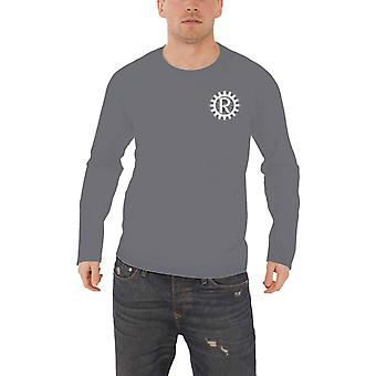 Rage Against The Machine T Shirt Sun Live new Official Mens Grey Long Sleeve