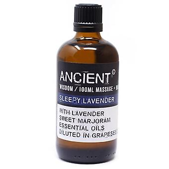Sleepy Lavender Essential Oils Blend Massage & Bath Oil 100ml
