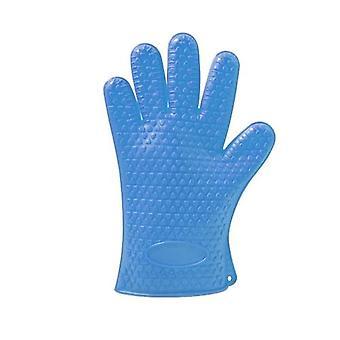 1PCS Silicone Glove Kitchen Heat Resistant Gloves