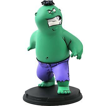 Marvel Animated Hulk Statue USA import