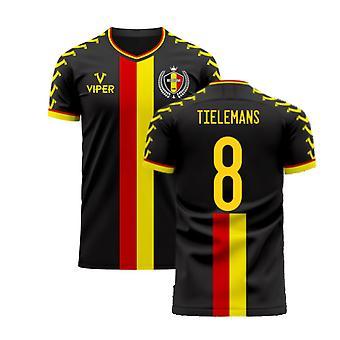 Belgien 2020-2021 Away Concept Football Kit (Viper) (TIELEMANS 8)