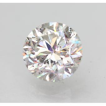 Sertifioitu 1,56 karat E VS2 pyöreä brilliant parannettu luonnollinen löysä timantti 7,13mm