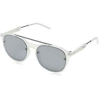 Polaroid PLD 6020/S JB TNY Sonnenbrille, Grau (Cry Ruthen/Grey Silmir Pz), 55 Unisex-Erwachsene