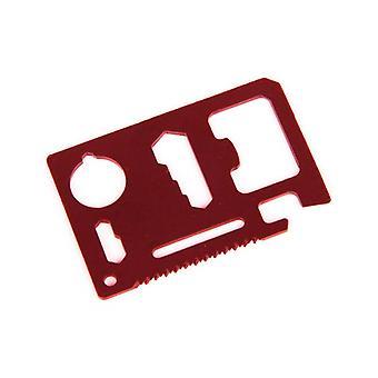 Narzędzie wielofunkcyjne portfela - czarny, czerwony lub srebrny