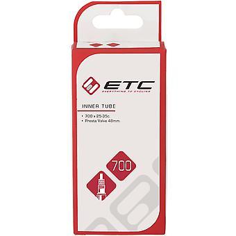 ETC Chambre à air 700 x 25-35c Presta