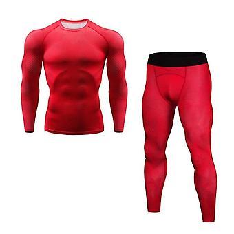 Men's Ski Underwear, Thermal Tights Long-top Shirt