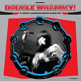 Various - Double Whammy A 1960's Garage Rock Rave-Up Blue Vinyl
