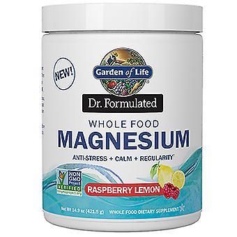 Livets trädgård Dr. Formulerat magnesiumpulver, Hallon citron, 14.9 Oz