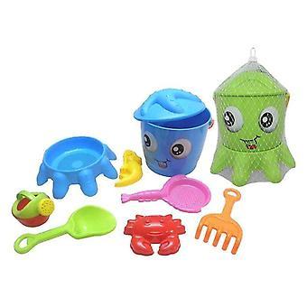 Beach toys set Octopus (9 pcs)