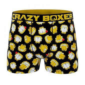 Crazy Boxer Garfield Faces Men's Boxer Briefs