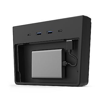 Concentrador USB 5 en 1 puertos, dashcam y visor de modo centinela para tesla modelo 3 y (después de mayo de 2020 producir)