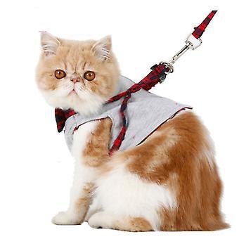 Cat dog harness walking fabric harness jacket