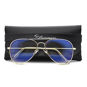 Gözlük Kadınlar, Pilot Çerçeve, Anti Göz Gözlüğü, Gözlük Şeffaf, Gözlük,