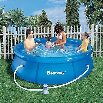 Bestway 8ft snabb Set Pool Set (Pool & 330 Pump)
