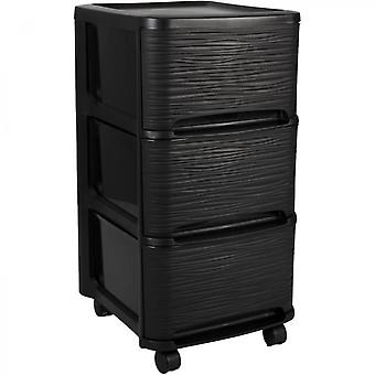 Eda Plastic 14l 3 Drawers Storage Tower