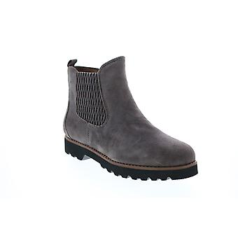Earthies Adult Womens Madrid Suede Side Zip Boot Casual Dress Boots