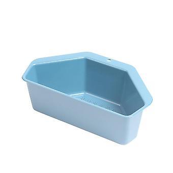 10Pcs Suction Cup Triangular Sink Strainer Drain Fruit Vegetable Drainer Basket Sponge Rack Storage