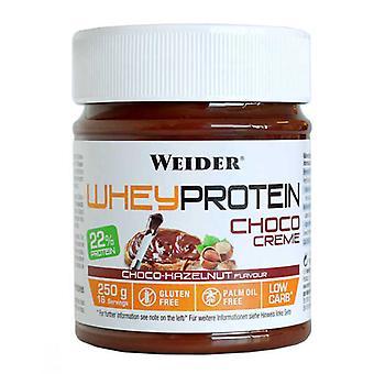 Whey Protein Choco Creme, Choco-Hazelnut - 250 grams