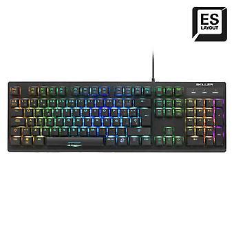 Spill tastatur Sharkoon SKILLER SGK30 Svart