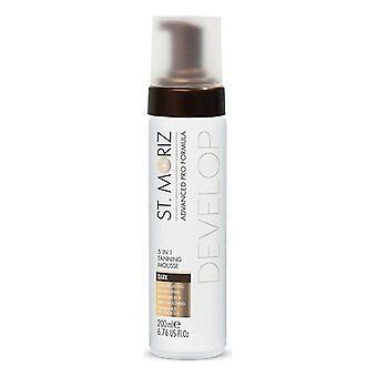 Self-tanning Mousse Advanced Pro Formula 5in1 St. Moriz (200 ml)