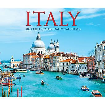 Italy 2022 Box Calendar Travel Daily Desktop by Willow Creek Press