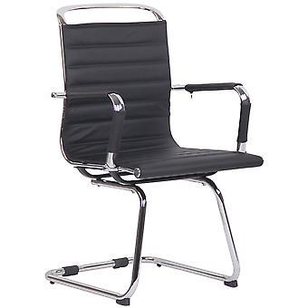 Chaise de bureau - Chaise de bureau - Bureau à domicile - Moderne - Noir - Métal - 57 cm x 60 cm x 96 cm