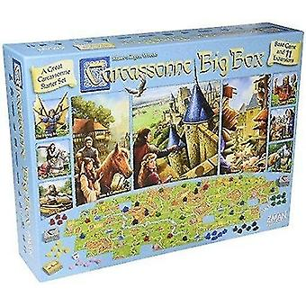 Tile games carcassonne: big box