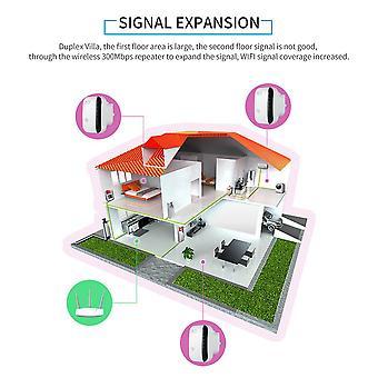 Hordozható vezeték nélküli 300mbps repeater hálózati router Wifi Signal Extender Booster