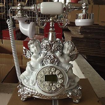 antikk stil roterende telefon prinsesse fransk stil gammeldags håndsett telefon