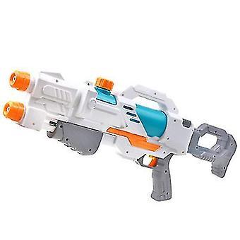 אקדח מים לילדים תותחי מים גדולים עם טווח ארוך לילדים להשפריץ אקדח אקדח צעצועי מים (לבן)
