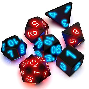 Awesome Board Game Glowing Dice 7 Pcs Tafel Games