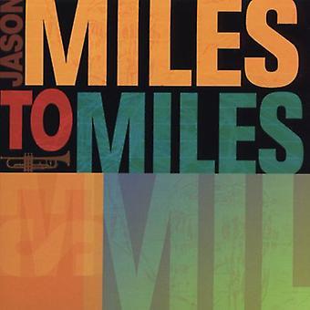 Jason Miles - Miles to Miles [CD] USA import