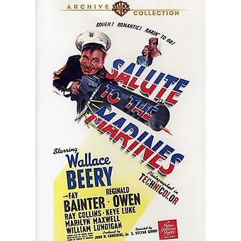 Salute to the Marines (1943) [DVD] USA import
