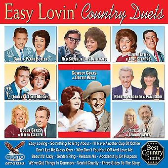 Lätt Lovin' land Duets - lätt Lovin ' land duetter [CD] USA import