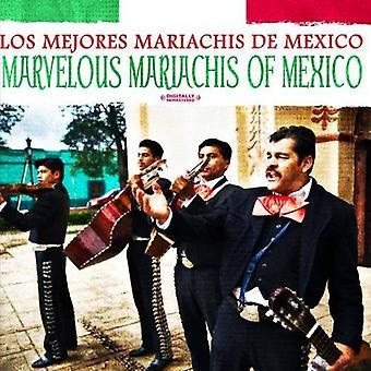 Los Mejores Mariachis De Mexico - Mexico ihmeellisiä Mariachis [CD] Yhdysvallat tuoda