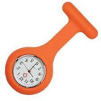 Новый моды силиконовые медсестры брошь туника ФОБ часы на Boolavard TM. (16 - оранжевый)