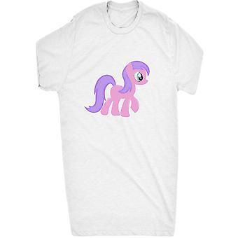 Kända söt 8 bitars retro Pixel ponny rosa och lila