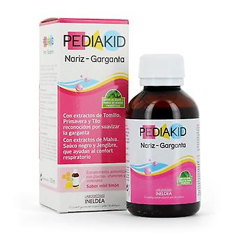 Ineldea Pediakid Nose and Throat 125 ml (Childhood , Food , Children's Supplement)