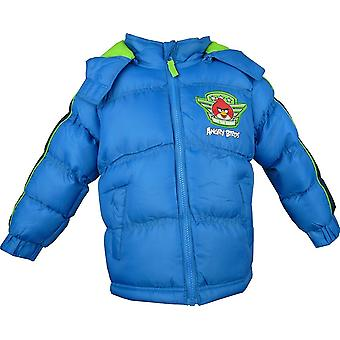 Boys Angry Birds Winter Hooded Puffer Jacket HO1223