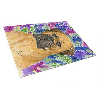 Carolines Treasures  SS8155LCB Bullmastiff Glass Cutting Board Large