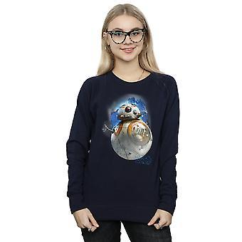 Star Wars Women's The Last Jedi BB-8 Brushed Sweatshirt