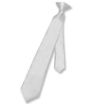 维苏沃那不勒斯男孩的 CLIP-ON 颈部 T 固体 青年 颈部 领带