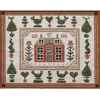 Little Red House Needlepoint Kit