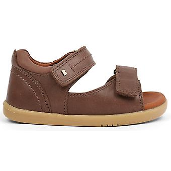 Bobux-wandeling jongens drijfhout sandalen Brown